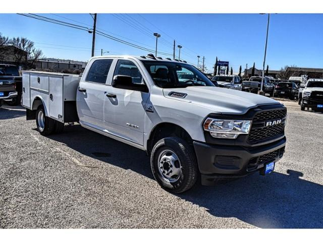 2020 Ram 3500 Crew Cab DRW 4x4, Reading Service Body #LG307557 - photo 1