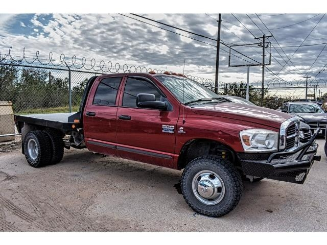 2007 Ram 3500 Quad Cab DRW 4x4, Platform Body #7G740713A - photo 2