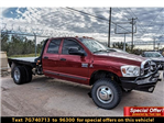 2007 Ram 3500 Quad Cab DRW 4x4, Platform Body #7G740713A - photo 1