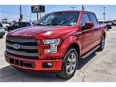 2016 F-150 SuperCrew Cab 4x2,  Pickup #GKF03926P - photo 6