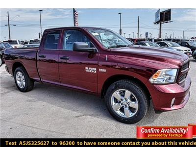 2018 Ram 1500 Quad Cab 4x2,  Pickup #JS325627 - photo 1