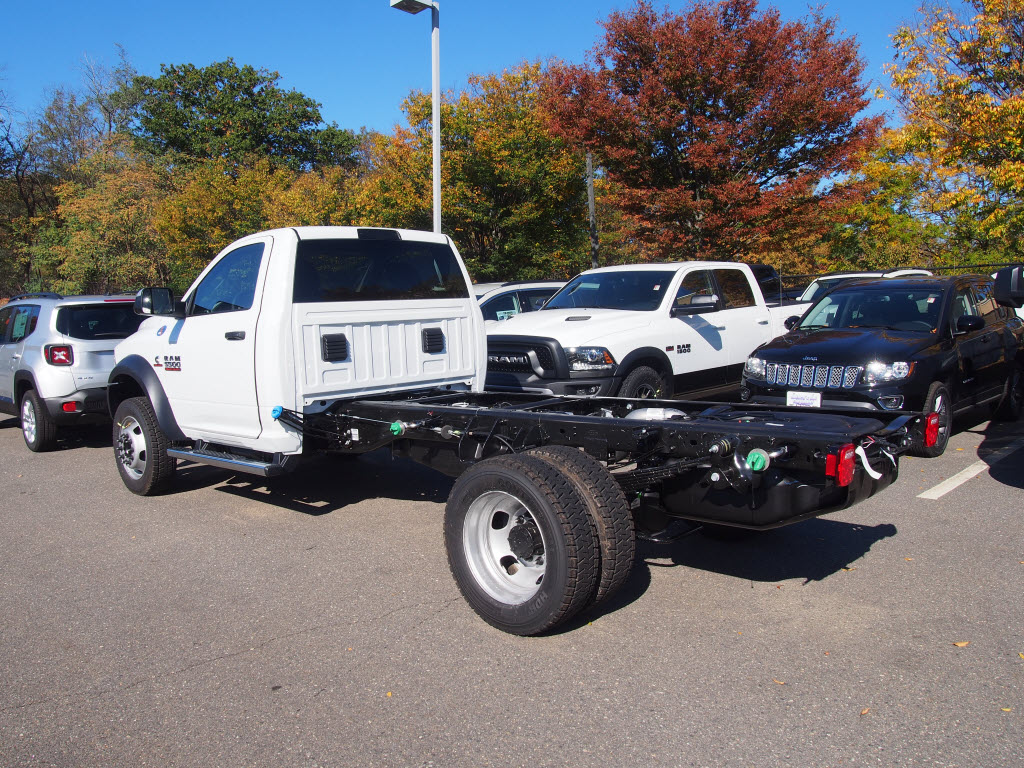 2017 Ram 5500 Regular Cab DRW 4x4, Cab Chassis #D17025 - photo 2