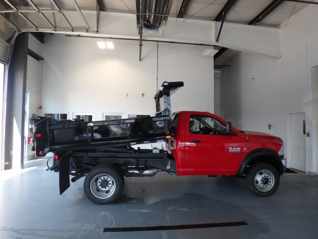 2017 Ram 5500 Regular Cab DRW 4x4, Dump Body #D17225 - photo 2
