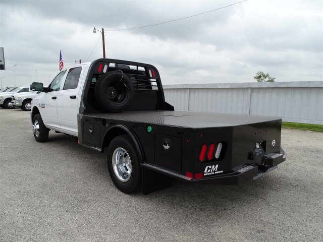 2017 Ram 3500 Crew Cab DRW 4x4, CM Truck Beds Platform Body #D15143 - photo 2