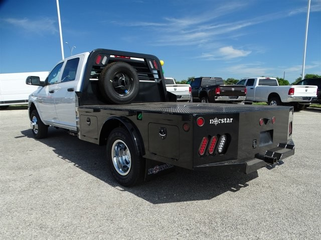 2017 Ram 3500 Crew Cab DRW 4x4, Platform Body #D15268 - photo 2