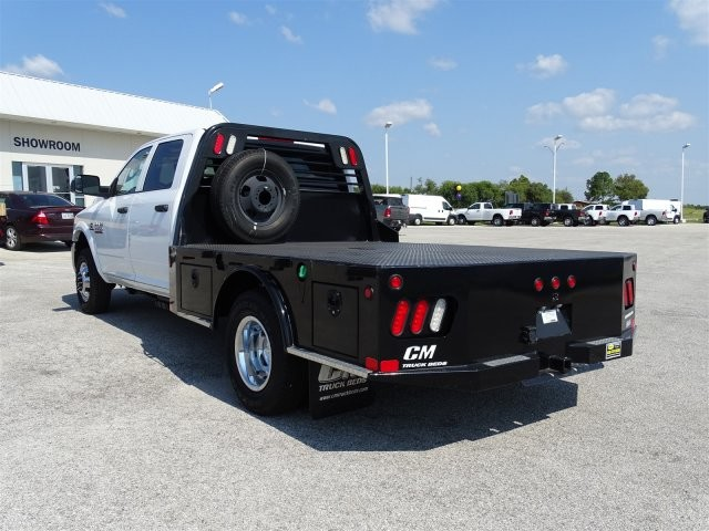 2017 Ram 3500 Crew Cab DRW 4x4, Platform Body #D15286 - photo 2