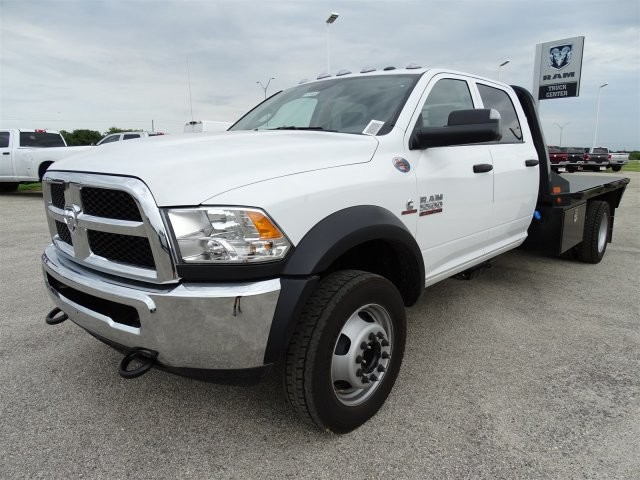 2017 Ram 5500 Crew Cab DRW 4x4, CM Truck Beds Platform Body #D15404 - photo 3