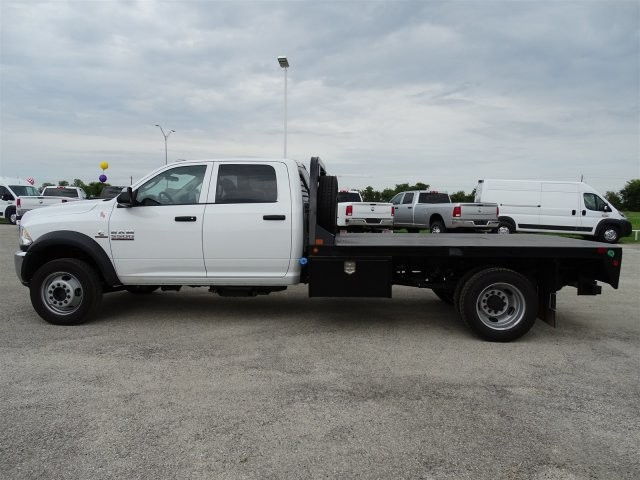 2017 Ram 5500 Crew Cab DRW 4x4, CM Truck Beds Platform Body #D15404 - photo 7