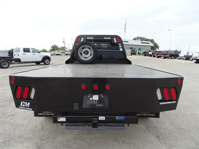 2017 Ram 5500 Crew Cab DRW 4x4, CM Truck Beds Platform Body #D15404 - photo 8