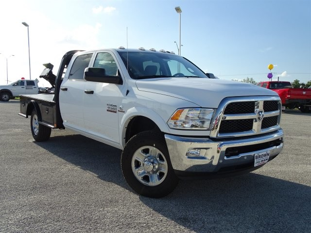 2018 Ram 3500 Crew Cab 4x4, Platform Body #D15441 - photo 9