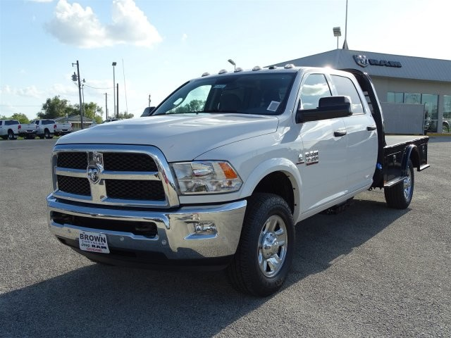 2018 Ram 3500 Crew Cab 4x4,  CM Truck Beds Platform Body #D15441 - photo 5