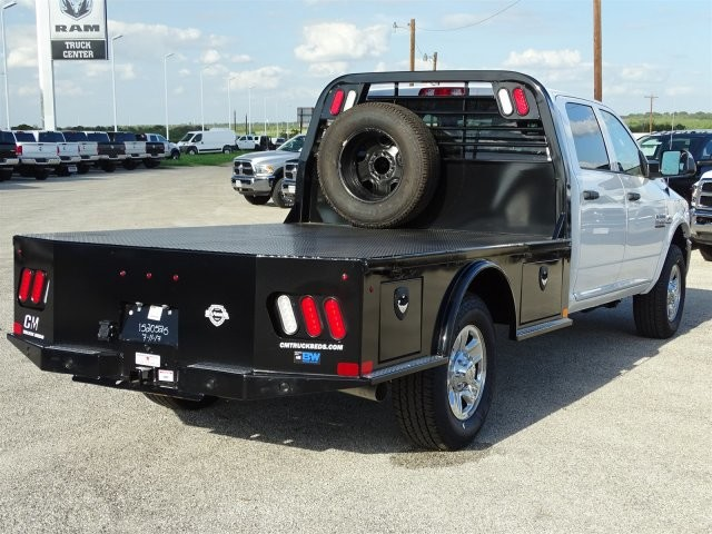 2018 Ram 3500 Crew Cab 4x4,  CM Truck Beds Platform Body #D15441 - photo 2