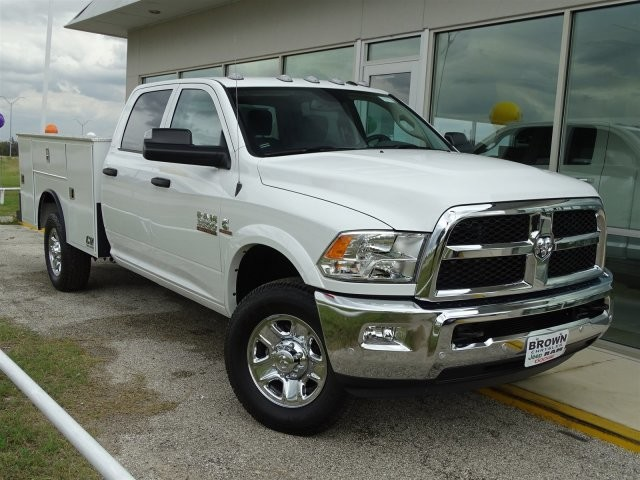 2018 Ram 3500 Crew Cab 4x4,  CM Truck Beds Service Body #D15468 - photo 3