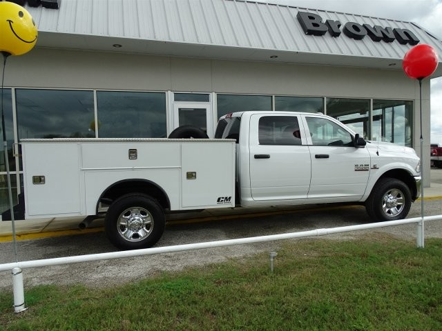 2018 Ram 3500 Crew Cab 4x4,  CM Truck Beds Service Body #D15468 - photo 6