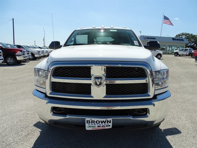2017 Ram 3500 Crew Cab DRW 4x4, Platform Body #D15516 - photo 6