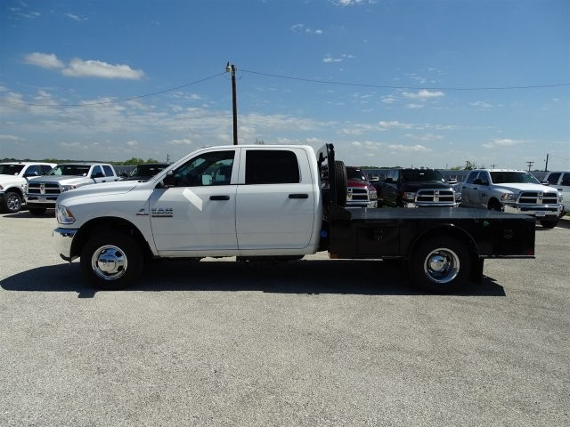 2017 Ram 3500 Crew Cab DRW 4x4, Platform Body #D15518 - photo 7