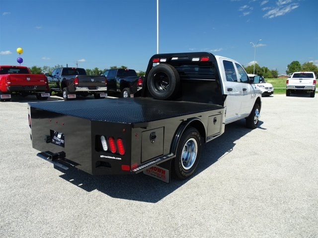 2017 Ram 3500 Crew Cab DRW 4x4, Platform Body #D15518 - photo 2