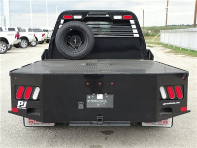 2017 Ram 3500 Crew Cab DRW 4x4, PJ Truck Beds Default PJ Truck Beds Platform Body #D15530 - photo 8