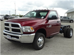 2018 Ram 3500 Regular Cab DRW 4x4 Cab Chassis #D15552 - photo 1