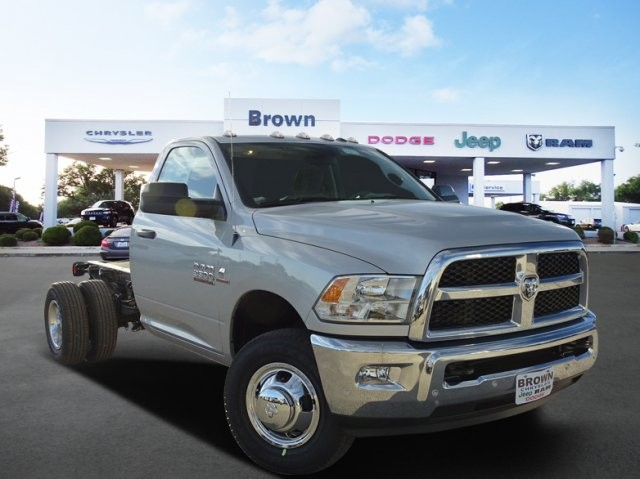 2018 Ram 3500 Regular Cab DRW 4x4, Cab Chassis #D15576 - photo 1