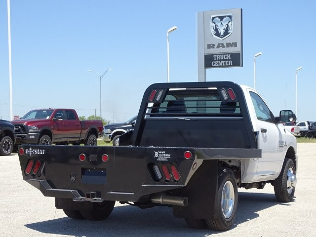 2018 Ram 3500 Regular Cab DRW 4x4,  Platform Body #D15579 - photo 2