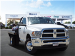 2018 Ram 3500 Regular Cab DRW 4x4, Platform Body #D15579 - photo 1