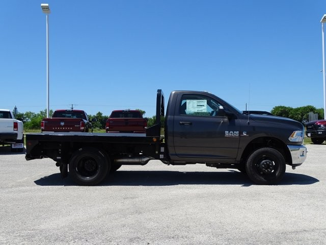 2018 Ram 3500 Regular Cab DRW 4x4, Platform Body #D15591 - photo 9