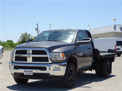 2018 Ram 3500 Regular Cab DRW 4x4,  Norstar SF Platform Body #D15591 - photo 5