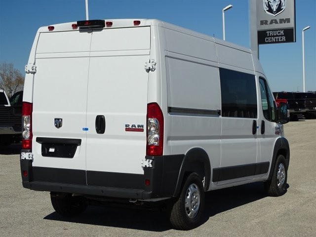 2018 ProMaster 2500 High Roof 4x2,  Empty Cargo Van #D15650 - photo 4
