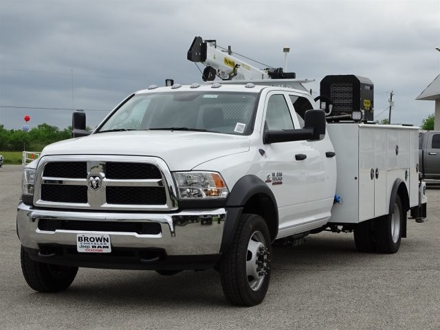 2018 Ram 5500 Crew Cab DRW 4x4, Palfinger Crane Body #D15793 - photo 5