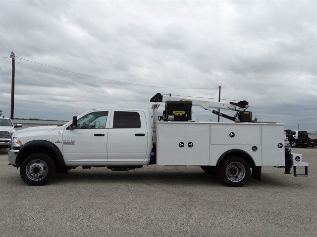 2018 Ram 5500 Crew Cab DRW 4x4, Palfinger Crane Body #D15793 - photo 6