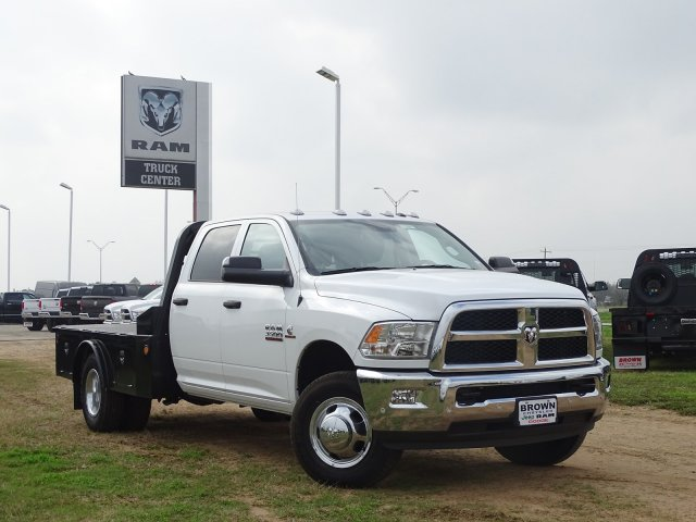 2018 Ram 3500 Crew Cab DRW 4x4,  Norstar Platform Body #D15987 - photo 8