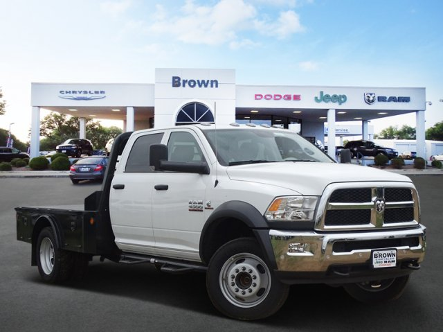 2018 Ram 4500 Crew Cab DRW 4x4,  Norstar Platform Body #D16011 - photo 1