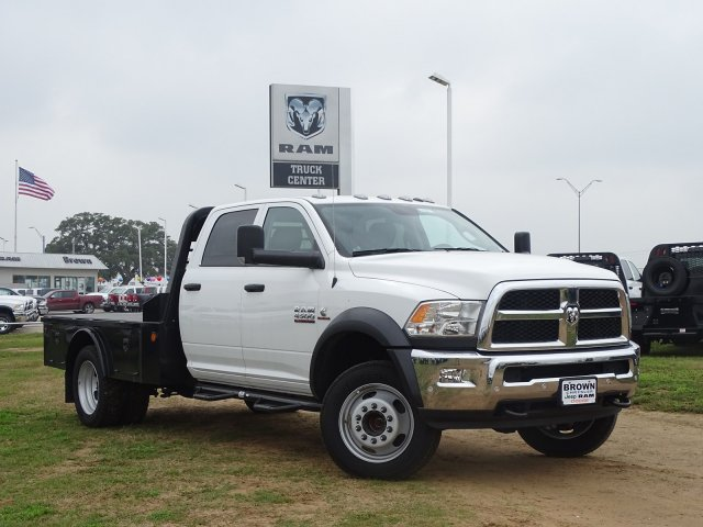 2018 Ram 4500 Crew Cab DRW 4x4,  Norstar Platform Body #D16011 - photo 7