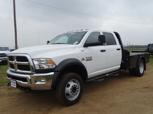 2018 Ram 4500 Crew Cab DRW 4x4,  Norstar Platform Body #D16011 - photo 5
