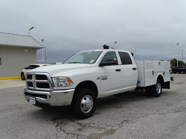 2018 Ram 3500 Crew Cab DRW 4x4,  Stahl Crane Body #D16191 - photo 5