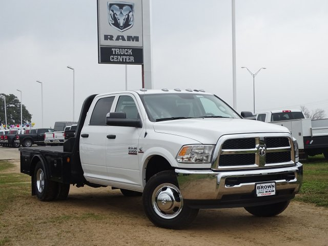2018 Ram 3500 Crew Cab DRW 4x4,  Norstar Platform Body #D16284 - photo 6