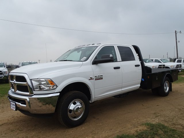 2018 Ram 3500 Crew Cab DRW 4x4,  Norstar Platform Body #D16284 - photo 4