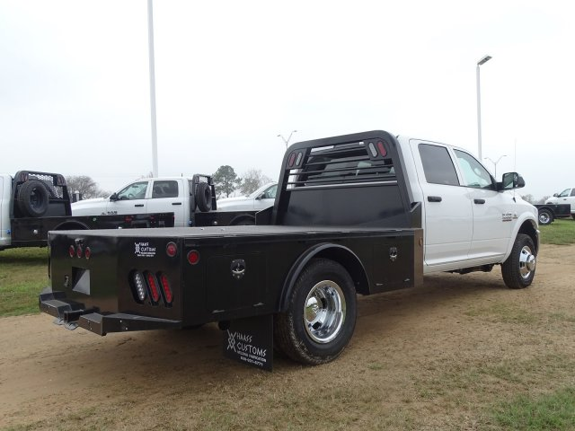 2018 Ram 3500 Crew Cab DRW 4x4,  Norstar Platform Body #D16284 - photo 1