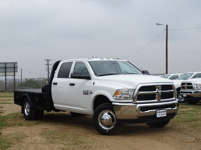 2018 Ram 3500 Crew Cab DRW 4x4,  Norstar Platform Body #D16294 - photo 5