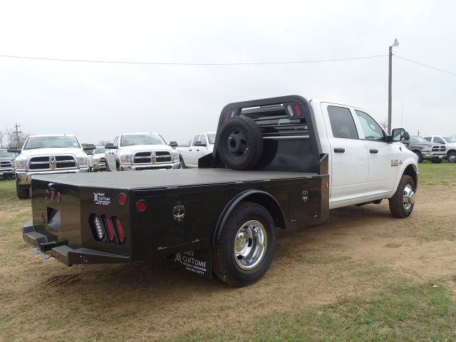 2018 Ram 3500 Crew Cab DRW 4x4,  Norstar Platform Body #D16294 - photo 1