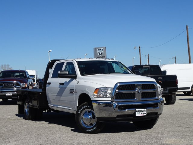 2018 Ram 3500 Crew Cab DRW 4x4,  Knapheide Platform Body #D16385 - photo 3
