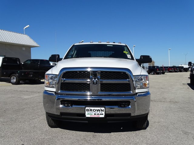 2018 Ram 3500 Crew Cab DRW 4x4,  Knapheide Platform Body #D16385 - photo 4