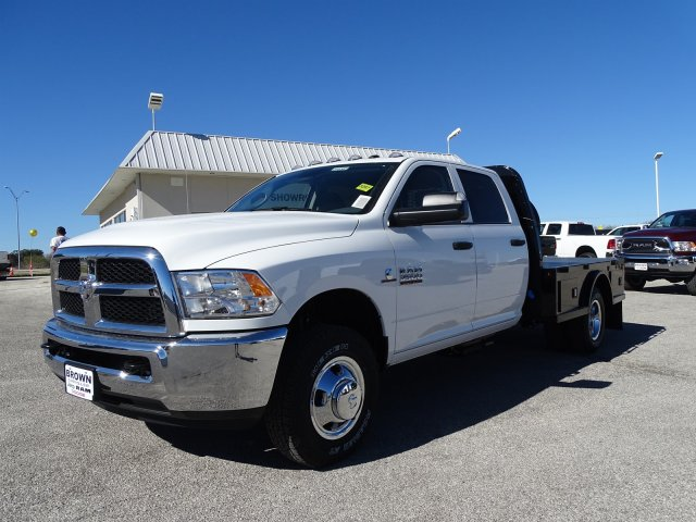 2018 Ram 3500 Crew Cab DRW 4x4,  Knapheide Platform Body #D16385 - photo 5