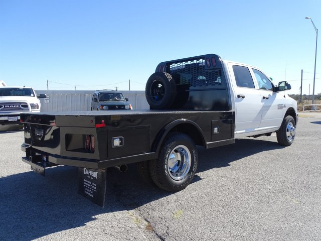 2018 Ram 3500 Crew Cab DRW 4x4,  Knapheide Platform Body #D16385 - photo 1