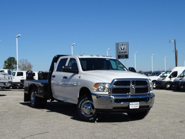 2018 Ram 3500 Crew Cab DRW 4x4,  Knapheide Platform Body #D16398 - photo 5