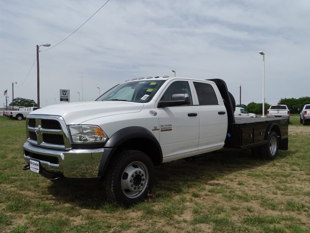 2018 Ram 5500 Crew Cab DRW 4x4,  Knapheide Platform Body #D16578 - photo 6