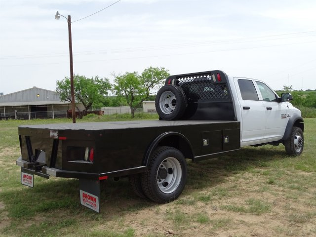 2018 Ram 5500 Crew Cab DRW 4x4,  Knapheide Platform Body #D16578 - photo 1