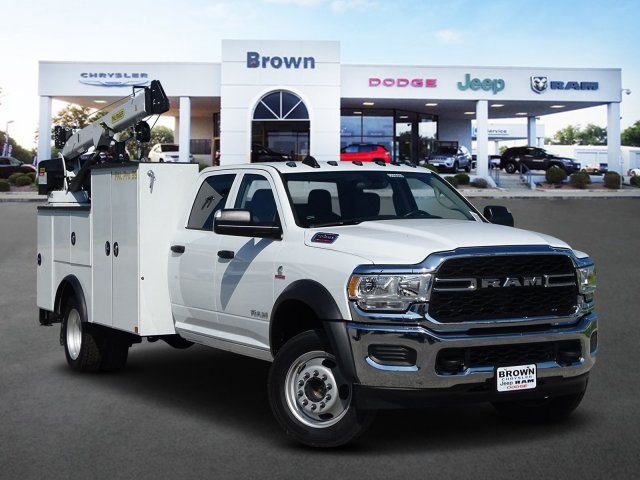 2019 Ram 5500 Crew Cab DRW 4x4,  Palfinger Crane Body #D16689 - photo 1