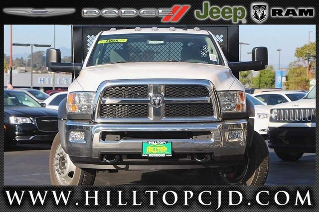 2016 Ram 4500 Regular Cab DRW 4x4, Knapheide Platform Body #D6752 - photo 4